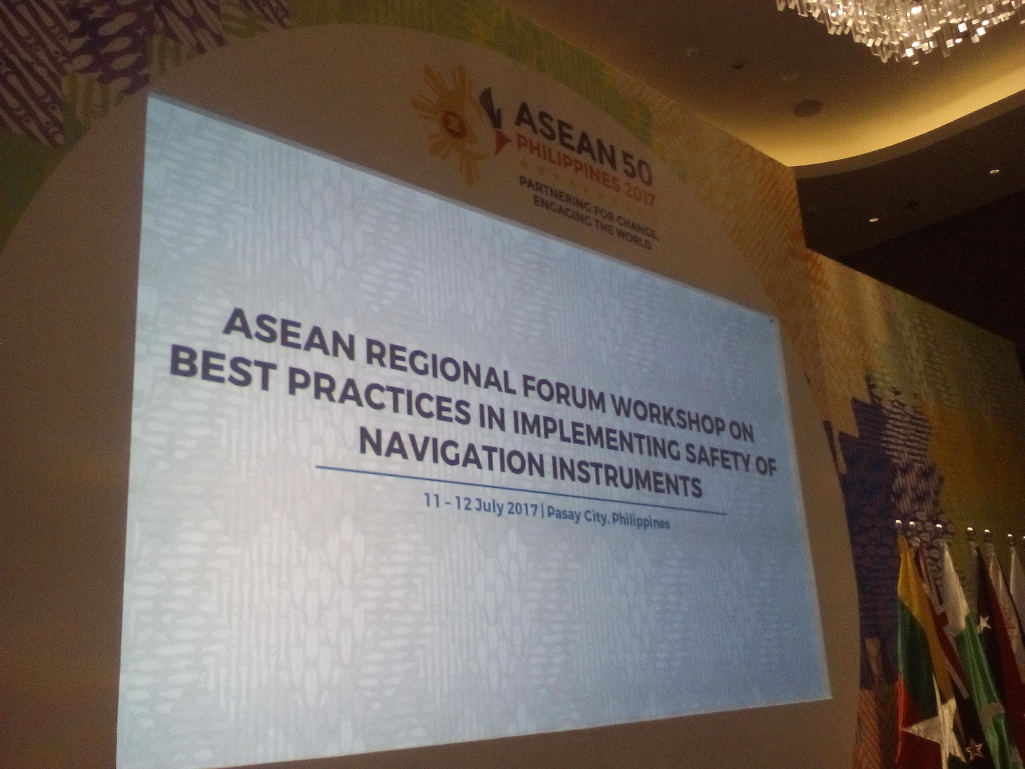 ASEAN Regional Forum Workshop on Best Practices in Implementing Safety of Navigation Instruments